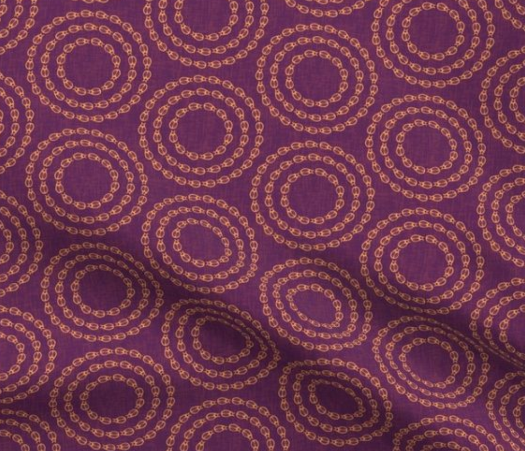 swatch bug circles purple